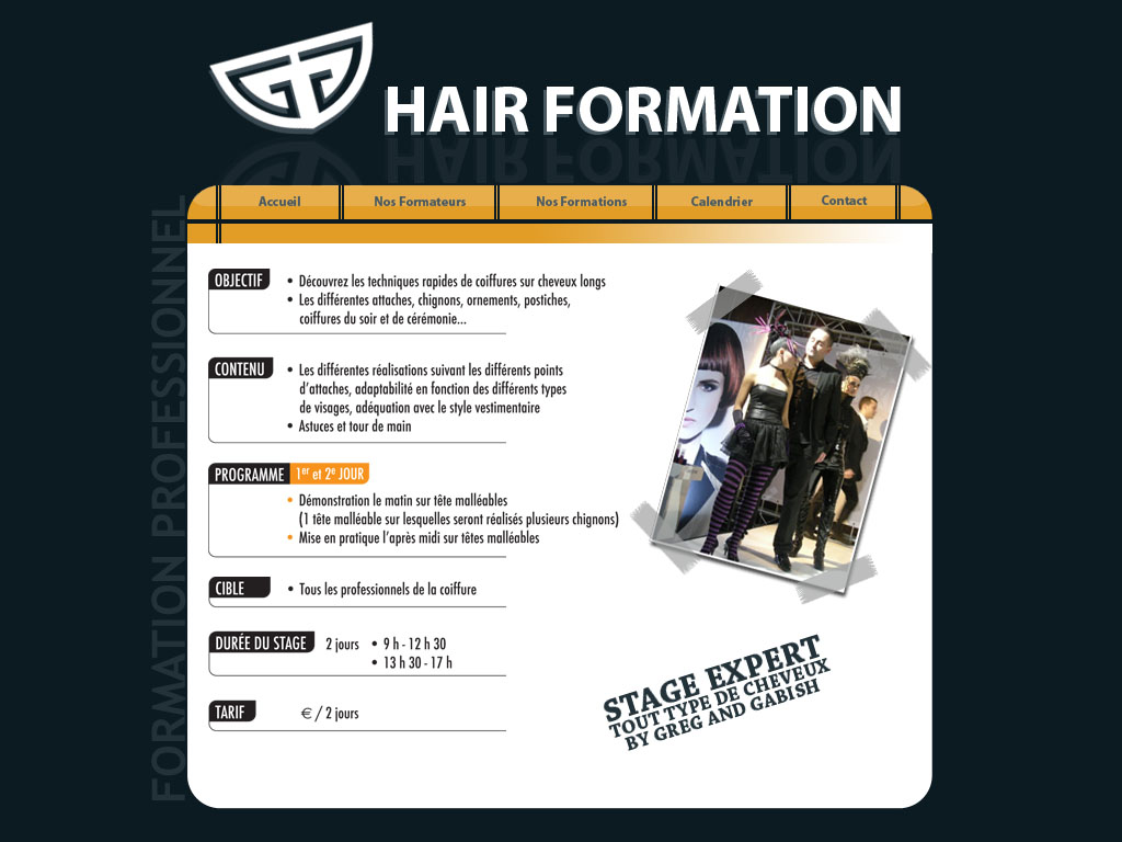 Gng Hair Formation