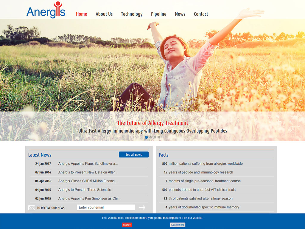 Anergis.ch Ultra-Fast Allergy Immunotherapy